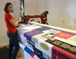 Quilting a T-shirt Quilt &  Adamdwight.com