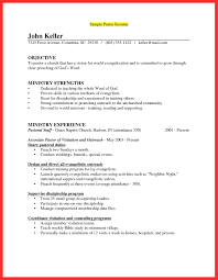 Youth Resume Sample Pastor Resume Templates Resume Samples