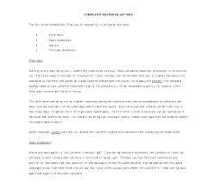 Letters Of Complaints Samples Letter Of Complaint Template Woodnartstudio Co