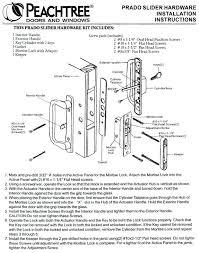 door lock parts diagram. Door Hardware Parts Modernist Ultramodern 5 Double Lock Diagram