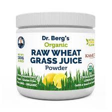 raw wheat gr juice powder lemon flavor