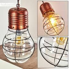 Wohn Ess Modern Lampe Pendel Hänge Schlaf Leuchte Rund