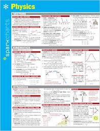 Amazon Com Physics Sparkcharts 9781411470712 Sparknotes