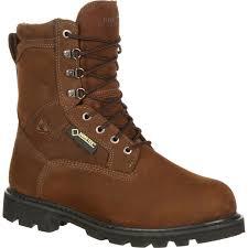 rocky ranger steel toe gore tex waterproof 600g insulated outdoor boot large