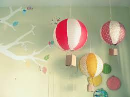 diy paper lantern hot air balloons