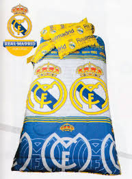 sprei my love single sprei dan bed cover my love single real madrid