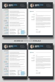Free Microsoft Word Resume And Cv Template For Photoshop Psd And