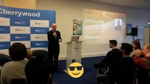 "Jana Jurdikova on Twitter: ""Welcome by @DenisLatDell. #DellCherrywoodGrads  #lifeatDell #universityrelations #networking #careeradvice… """