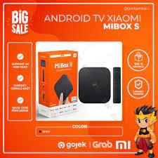Android TV Xiaomi Mi Box S / MiBox 4 4K HDR Quadcore MDZ22AB Original