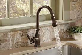 moen 7185orb brantford one handle high arc pulldown kitchen faucet