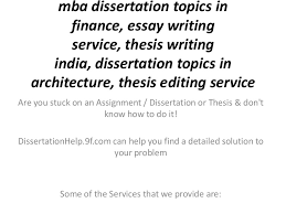 mba dissertation topics in finance essay writing service thesis wri