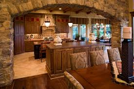 Shenandoah Heights Luxury Home Plan S    House Plans and MoreContemporary House Plan Kitchen Photo   S    House Plans and More