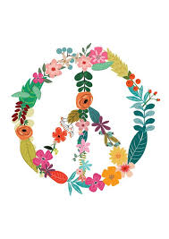 floral peace sign flower power motivational by thenativestate on wall art flower power with floral peace sign flower power motivational print inspirational