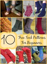 Knitted Sock Patterns For Beginners