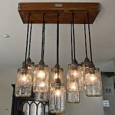 18 diy mason jar chandelier ideas