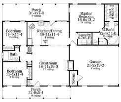 Pleasurable Inspiration Small House Floor Plans With Garage 15 25 Floor Plans With Garage