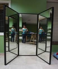 Finished 3 Way Mirror - Tutorial so you can make one too!