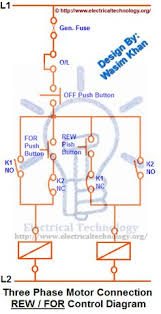 three phase contactor wiring diagram electrical info pics non stop how to read industrial electrical wiring diagrams rev for three phase motor connection control diagram