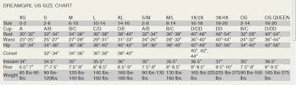 Fredericks Of Hollywood Bra Size Chart Size Charts Naughty And Nice Lingerie