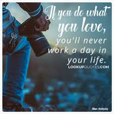 Do What You Love Quotes Interesting If You Do What You Love You'll Never Work A Day In Your Life