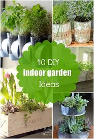 10 diy indoor garden ideas herb planters