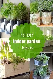 10 diy indoor garden