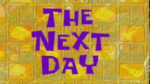 Image result for spongebob time cards