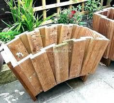 tree planter box wooden boxes you can look zinc palm 4x4 plans 4x4 planter box plans n