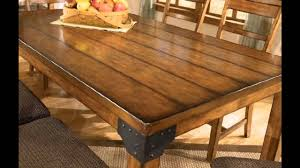 Image Counter Height Amazoncom Rustic Dining Room Tables Ideas Youtube