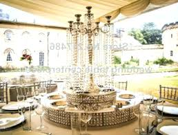 diy chandelier centerpiece table