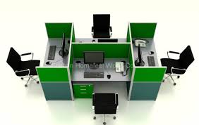 modern office cubicles. Modern Office Cubicles High Partition Modular Workstation (HF-YZ093) B