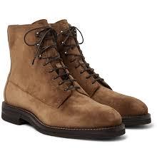 Mens Designer Boots Brunello Cucinelli Suede Boots Mens Suede Boots Boots