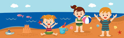 Image result for children at the beach