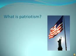 definition essay what is patriotism