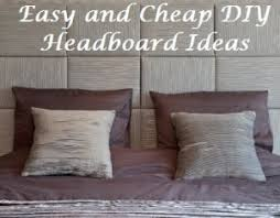 Diy Cheap Headboard 15 Easy Diy Headboards Diy Within Diy Cheap