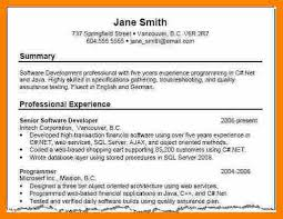 Resume Summary Examples Classy 40 Awesome Resume Summary Statement Examples