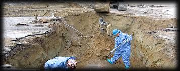 Land Remediation Removing Hazardous Materials Contaminated Land