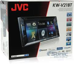 jvc kw v21bt double din dvd car stereo w built in bluetooth product jvc kw v21bt