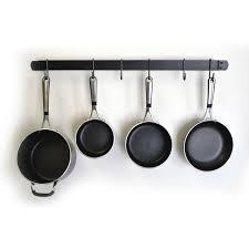 ladder pot rack pot and pan wall rack pot racks