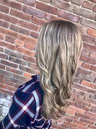 Natural Blonde Shadow Root Highlighted Long