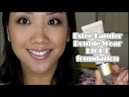 estee lauder double wear light stay in place makeup first impressions