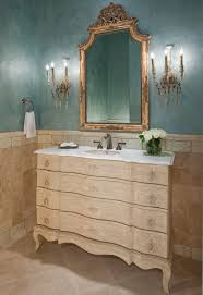 dallas powder room chandelier traditional with chair rail wooden bathroom vanities tops ornate mirror