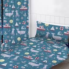 Nautisch Meer Vorgefertigt Vorhänge Kinder Schlafzimmer Blue 72