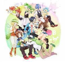 Black and White cast! - Pokemon Fan Art (17093199) - Fanpop