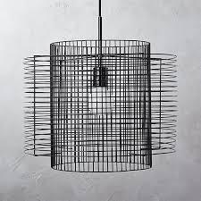 overlap cage pendant light 15987
