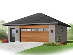 2-Car Garage Plan 028G-0055 This contemporary ...