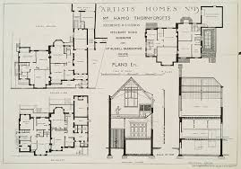 free en house plans uk with plans for sir hamo s house 1881