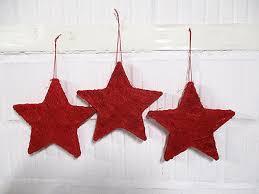 3 Sterne Rot Weihnachten Fensterdeko Stern Weihnachtsdeko