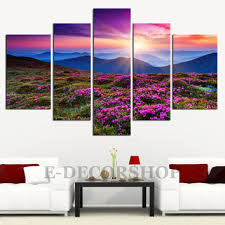 canvas art colourful autumn and canvas art print 5 piece moun on 3 piece wall art mountains with shop large canvas art trees on wanelo