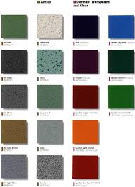 Absolute Powder Coating Llc Color Charts